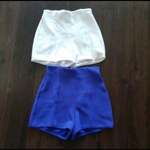Bebe High Wasted shorts